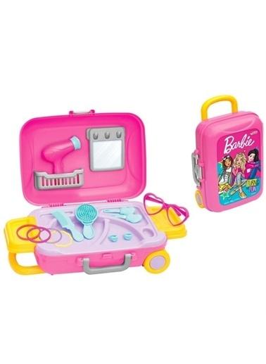 Dede Barbie Güzellik Seti Bavulum Kız Çocuk Oyuncak Renkli